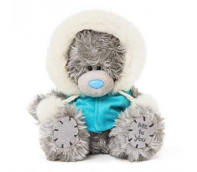 Мишка Тедди MTY в кофточке с капюшоном