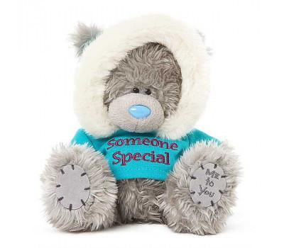 Мишка Тедди в кофточке с надписью Someone Special