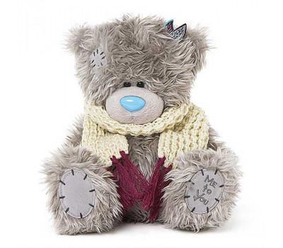 Мишка Тедди MTY в вязаном шарфике