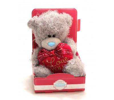Мишка Тедди MTY с сердцем I Love You