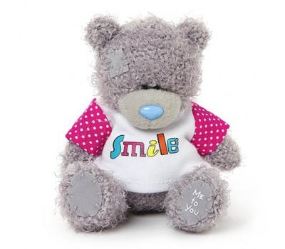 Мишка Тедди MTY в футболке Smile