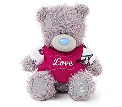 Мишка Тедди MTY  в футболке Love