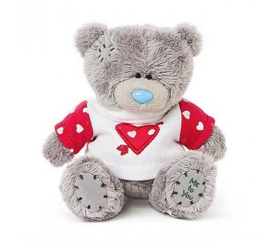 Мишка Тедди MTY в футболке с сердцем со стрелой