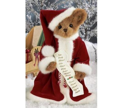 Мишка Беррингтон в новогоднем костюме