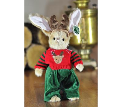 Зайчик Берингтон в костюме оленёнка