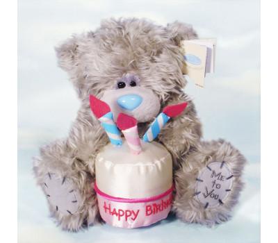 Мишка Тедди MTY с тортиком