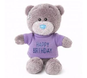 Ведмедик Тедді MTY у кофточці Happy Birthday