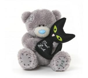 Ведмедик Тедді MTY з чорним кошеням