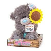 Ведмедик Тедді МTY з соняшником для донечки