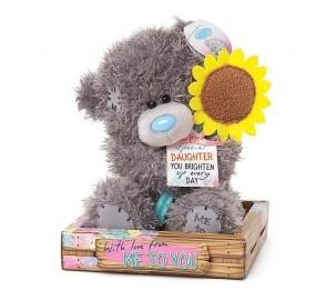 Мишка Тедди МTY с подсолнухом для доченьки