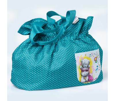 Молодежная сумка MetoYou с мишкой Тедди