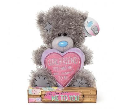 Ведмедик Тедді MTY  з серцем Girlfriend, you and me are meant to be