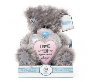Ведмедик Тедді MTY  з сердцем I LOVE YOU
