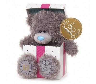 Ведмедик Тедді MTY  з днем народження 18 років