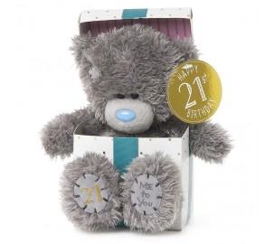 Ведмедик Тедді MTY  з днем народження 21 рік