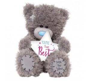 Ведмедик Тедді MTY  з рожевою зірочкою
