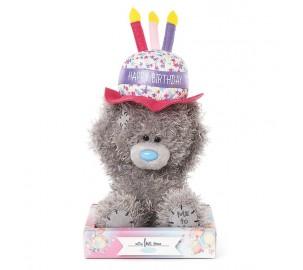 Ведмедик Тедді MTY - з тортиком Happy Birthday