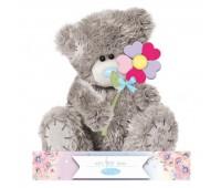 Ведмедик Тедді MTY з яскравою квіточкою
