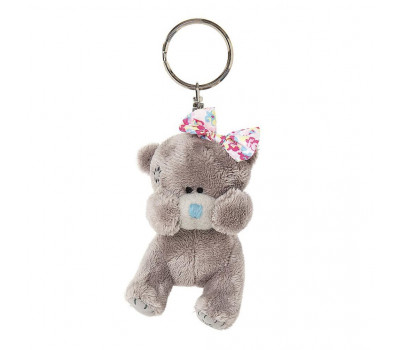 Мишка Тедди MTY - брелок медвежонок-девочка с бантиком