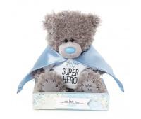 Ведмедик Тедді MTY  в плащі супер-героя