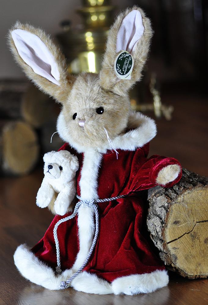 Плюшевые зайцы Беррингтон - интерьерные игрушки